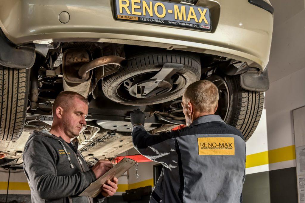 Usługa door to door w Serwis RENO MAX